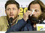 Supernatural starsJared Padalecki and Jensen Ackles are brought to tears at show's last Comic-Con