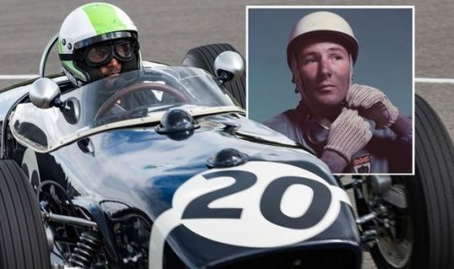 Top Gear's Chris Harris pays tribute to legendary Sir Stirling Moss in iconic Lotus 18
