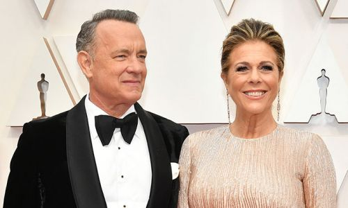 Rita Wilson celebrates being a COVID-19 survivor after returning to LA with Tom Hanks