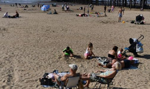 Wales sees 25C temperatures as UK enjoys late summer sunshine