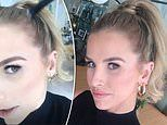 Vogue Williams shares trick for disguising 'post-baby' hair loss by brushing scalp with bronzer
