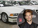 Paul Walker's personal vehicle collection featuring 21 automobiles takes in $2.3M at auction