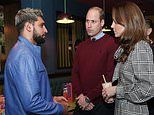 Boxing ace Amir Khan says UK is NOT a racist country as he meets Prince William and Kate Middleton