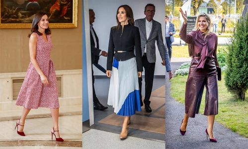 Royal style watch: the most fashionable outfits of the week
