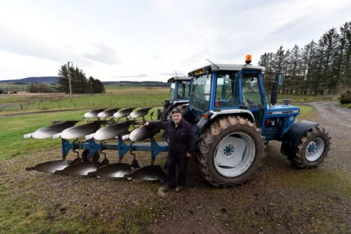Keith man's 24-hour ploughing challenge to raise funds for cancer charity in honour of mum