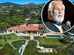Malibu cliff top mansion once owned by country singer Kenny Rogers hits the market for $125 million