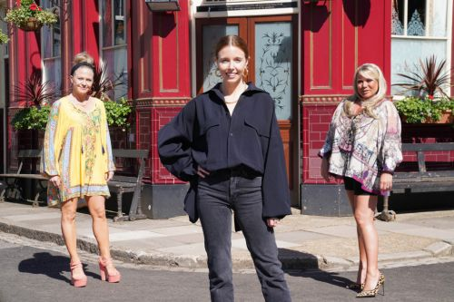EastEnders queens Kellie Bright and Letitia Dean for Secrets From The Square landladies special