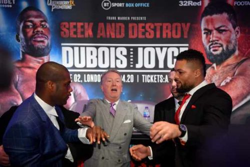 How to watch Daniel Dubois v Joe Joyce - Fight date, undercard, TV and live stream details
