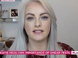 Ex Corrie star Katie McGlynn has a smear test on Lorraine