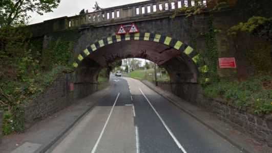 Northern Ireland rail bridges hit by cars 55 times in three years