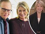 Martha Stewart reveals she 'sort of' went on a 'dinner date' with Larry King