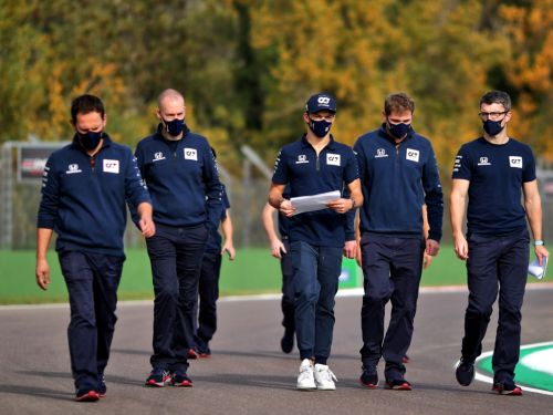 Gasly thriving in AlphaTauri's 'right harmony'