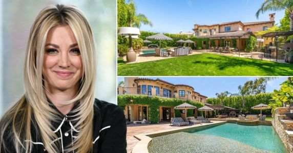The Big Bang Theory's Kaley Cuoco sells luxury mansion at huge loss