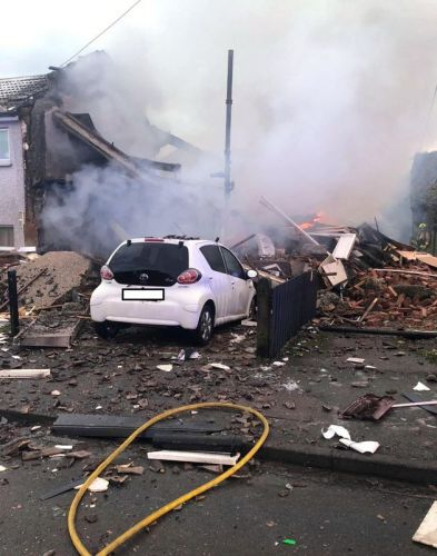 Three People Taken To Hospital After House Destroyed In Explosion