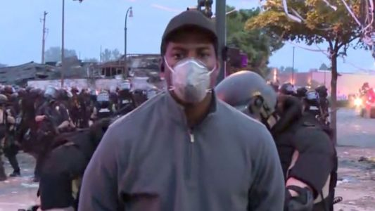 George Floyd protests: are journalists being targeted by police at US riots?