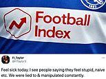 Thousands of fans left furious after share prices on gambling platform Football Index CRASHED
