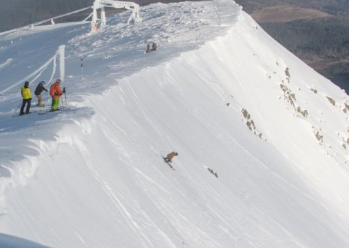 Scotland's best backcountry skiers and boarders prepare to take on the Corrie Challenge