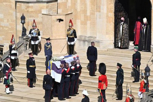 Prince Philip asked photographer to hide in pillar for perfect funeral picture