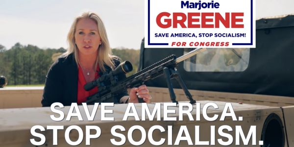 Far-right QAnon supporter Marjorie Taylor Greene is virtually guaranteed to win a House seat despite her long history of racist beliefs