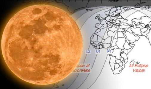 Eclipse 2018 map: Where will the longest Blood Moon of the century be visible?