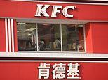 KFC worker is 'diagnosed with coronavirus' as company shuts thousands of restaurants in China