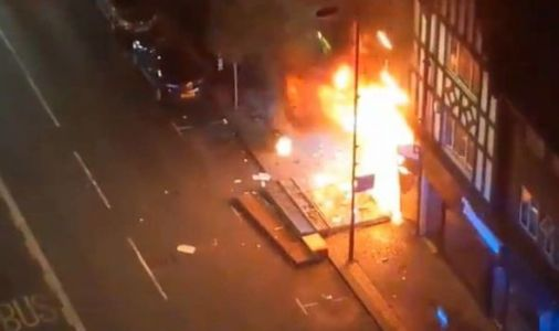 London Fire: Woman pulled from building in Croydon after huge High Street explosion