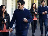 Home and Away's James Stewart and Sarah Roberts look loved-up