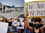 Predator drone usually used for tracking and killing terrorists is flown over Minneapolis