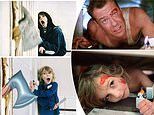Father and daughter recreate famous movie scenes