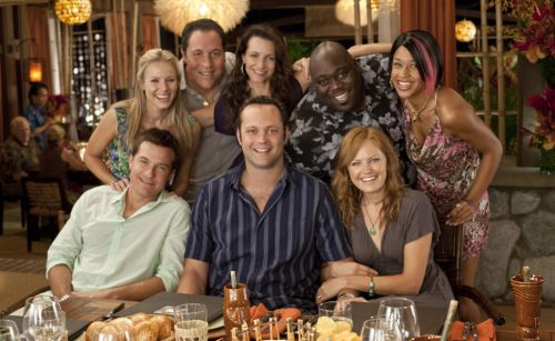 Faizon Love sues Universal after only Black actors are removed from Couples Retreat poster