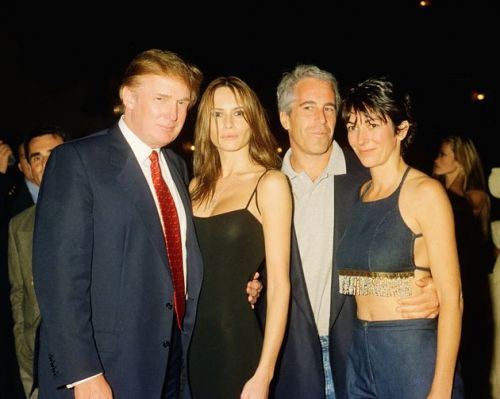Trump Wishes Accused Sex Abuser Ghislaine Maxwell 'Well' At Coronavirus Briefing