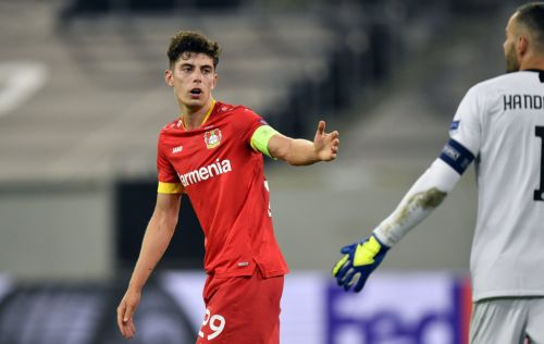 Bayer Leverkusen boss jokes about Kai Havertz and Chelsea transfer after Inter defeat