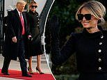 Melania Trump hands over First Lady fashion torch to Jill Biden