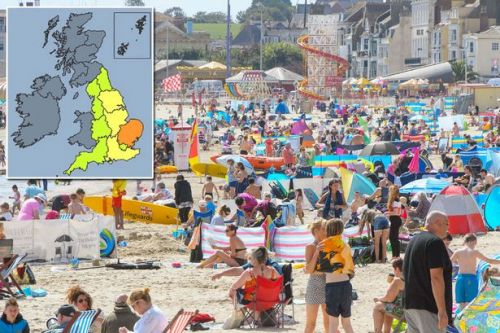 UK weather forecast: August Bank Holiday could be hottest in 18 YEARS