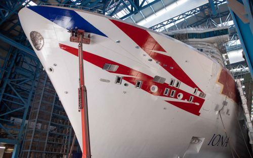 P&O Cruises and Cunard extend their suspension period, delaying Iona's maiden voyage
