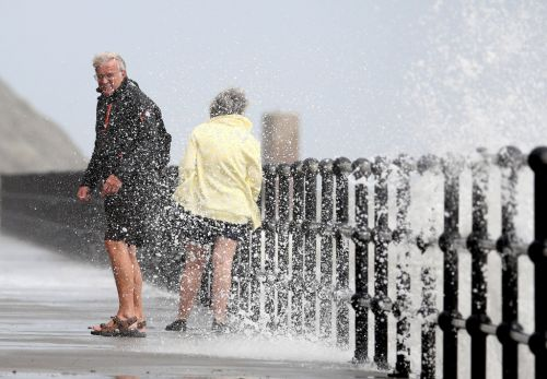 Met Office issues severe weather warnings with gales reaching 65mph