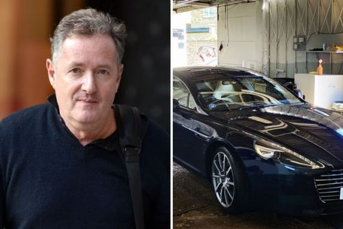 Piers Morgan slammed for taking £150,000 Aston Martin to car wash