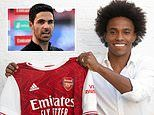 Mikel Arteta hails versatility of new signing Willian as he kick-starts his Arsenal shake-up