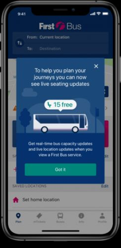 Bus firm rolls out passenger-tracking app to help with social distancing
