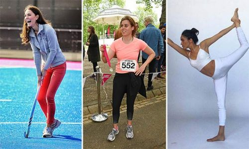 New Year sportswear inspiration from Kate Middleton, Princess Beatrice, Meghan Markle and Co