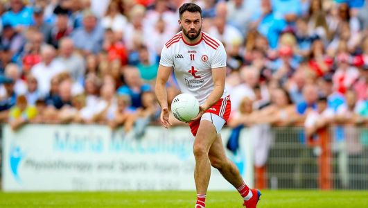 Kyle Coney doing all he can to make up for lost time and reclaim slot in Tyrone side
