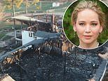 Jennifer Lawrence's family farm catches fire destroying the complex asbrother asks help to rebuild