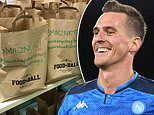 Arkadiusz Milik uses his restaurant in Polish city Katowice to send food to hospitals in hometown