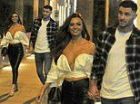 Love Island's Kendall Rae Knight enjoys date night with footballer boyfriend Andrew Hughes