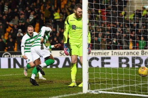 Celtic fan 'throws object at Zander Clark' during St Johnstone clash