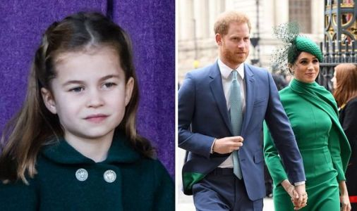 Princess Charlotte faces horrible challenge after Meghan and Harry's royal rejection