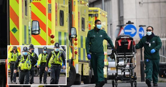 Assaults on emergency workers are most common Covid-related crime