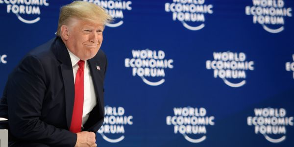 Trump just exposed a dirty secret in Davos