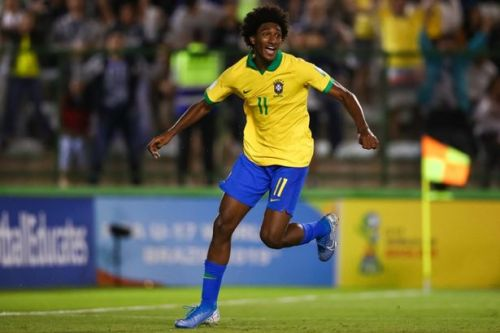 Liverpool 'make contact' over £18m Brazilian wonderkid Talles Magno