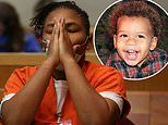 Mom who told cops her son, two, had been kidnapped is sentenced to 50 years in prison over his death